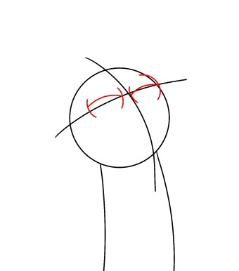 How To Draw Morty Smith Step 2