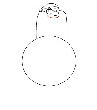 How To Draw Peter Griffin Step 5