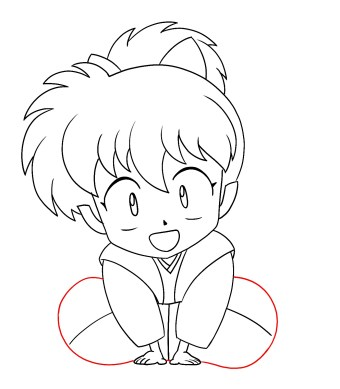 How To Draw Shippo Step 10