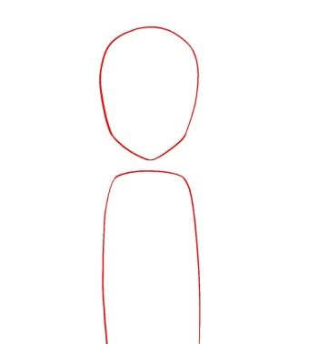 How To Draw Aang Avatar Step 1
