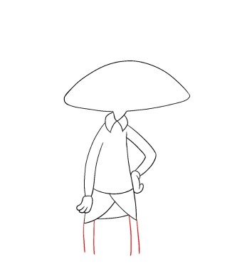 How To Draw Hey Arnold Step 5