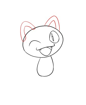 How To Draw Meowth Step 5