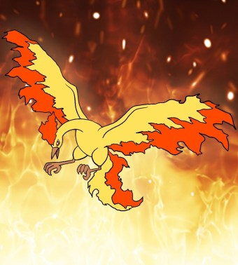 How To Draw Moltres Step 11