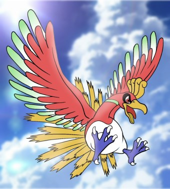 How To Draw Ho-Oh Step 15