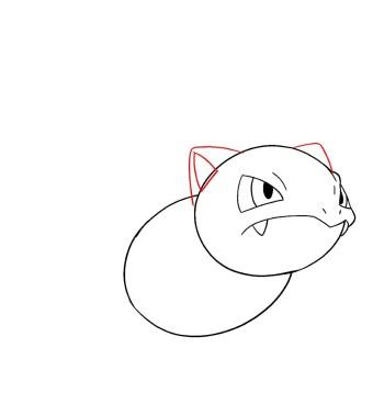 How To Draw Ivysaur Step 5
