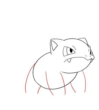 How To Draw Ivysaur Step 6