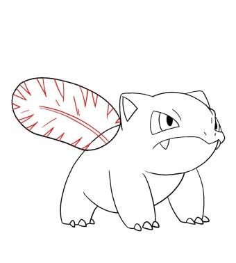 How To Draw Ivysaur Step 9