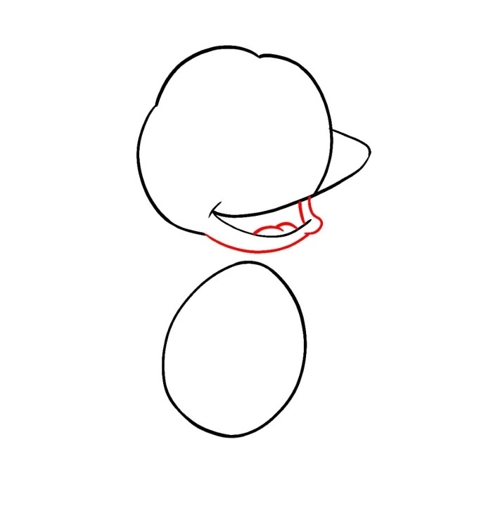 How To Draw Tommy Pickles Rugrats Step 3