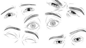 draw eyes expressive easy drawings drawing tutorial animal