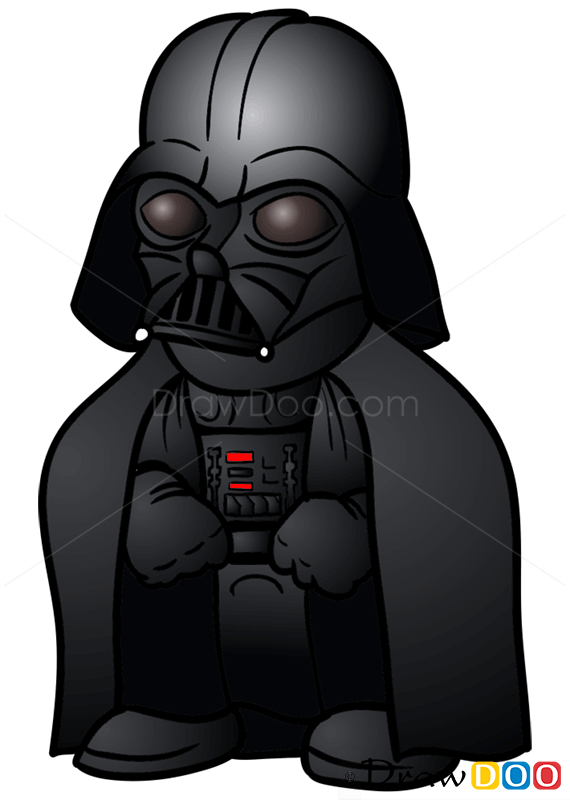 Cute Lego Stormtrooper Wallpaper How To Draw Darth Vader Chibi Star Wars