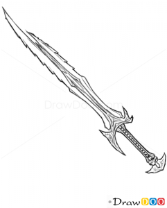 How To Draw Combat Dagger Cold Arms