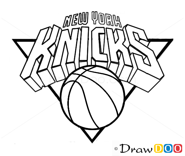 New York Knicks Nba Coloring Pages Coloring Pages