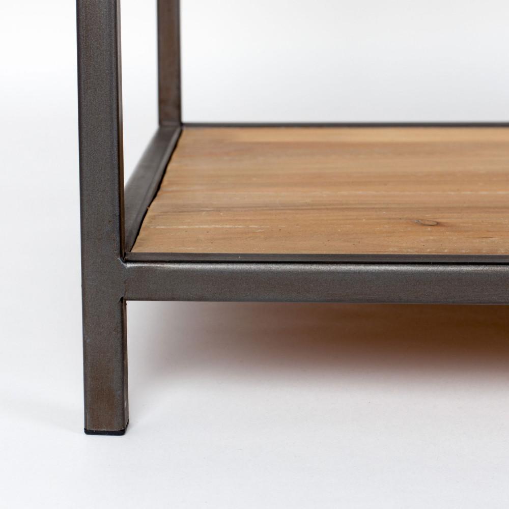 Console Bois Metal Tiroir Table Pliante Bois Ikea élégant Ikea