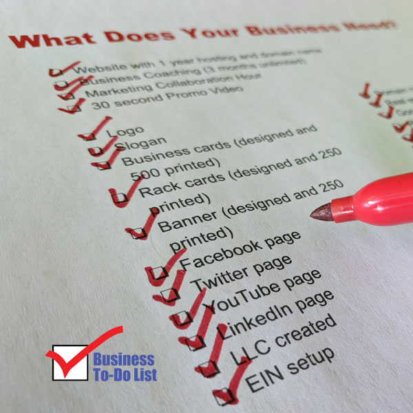 Your Checklist For Business Is About To Be Completed.