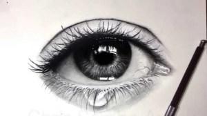 charcoal drawing eye eyes realistic easy pencil drawings tears sketch steps teary better sketching drawingartpedia tutorial tattoo portrait tattoos skull