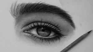 charcoal eyes draw drawing eye eyebrow easy pencils steps drawings better paintingvalley samba chris