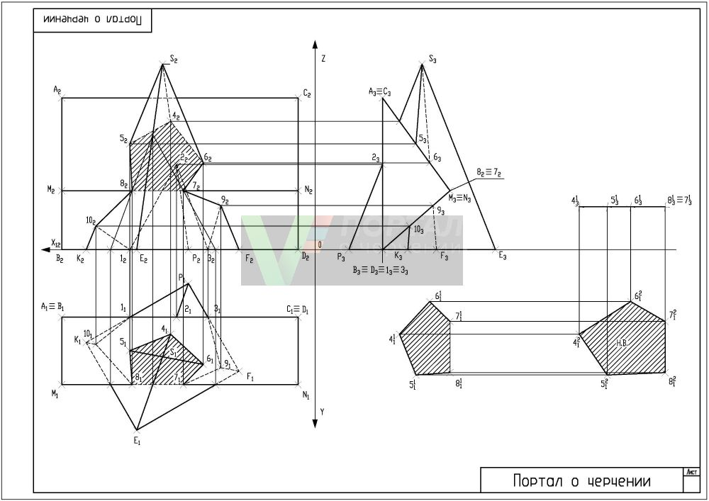 Intersection of polyhedrons (pyramids and prisms)