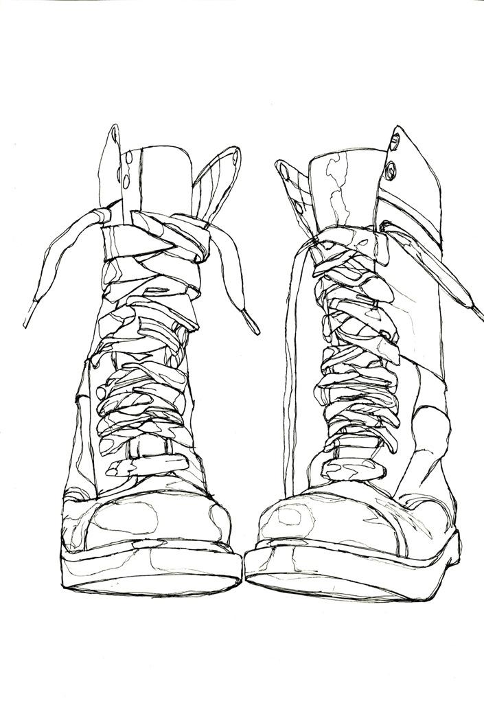 Continuous Line, Blind Contour, and Contour Line « drawing113