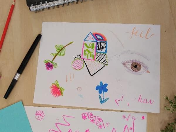 Clydebank art group - Autumn creativity