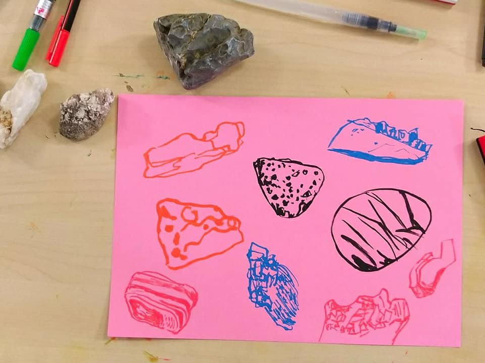 Relaxing doodling and free creative time at Centre81