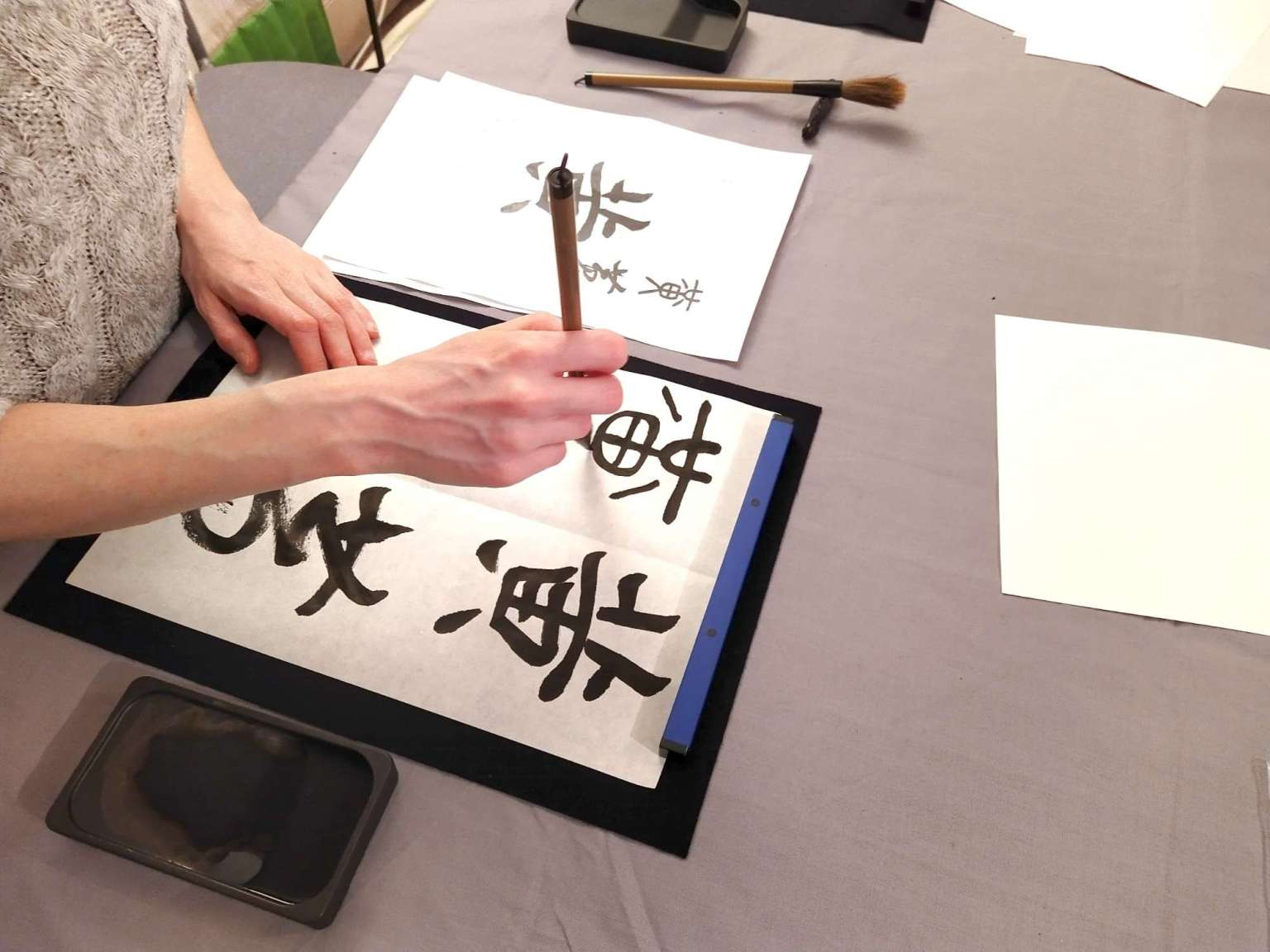 Japanese Shodo Calligraphy – Zen Brush