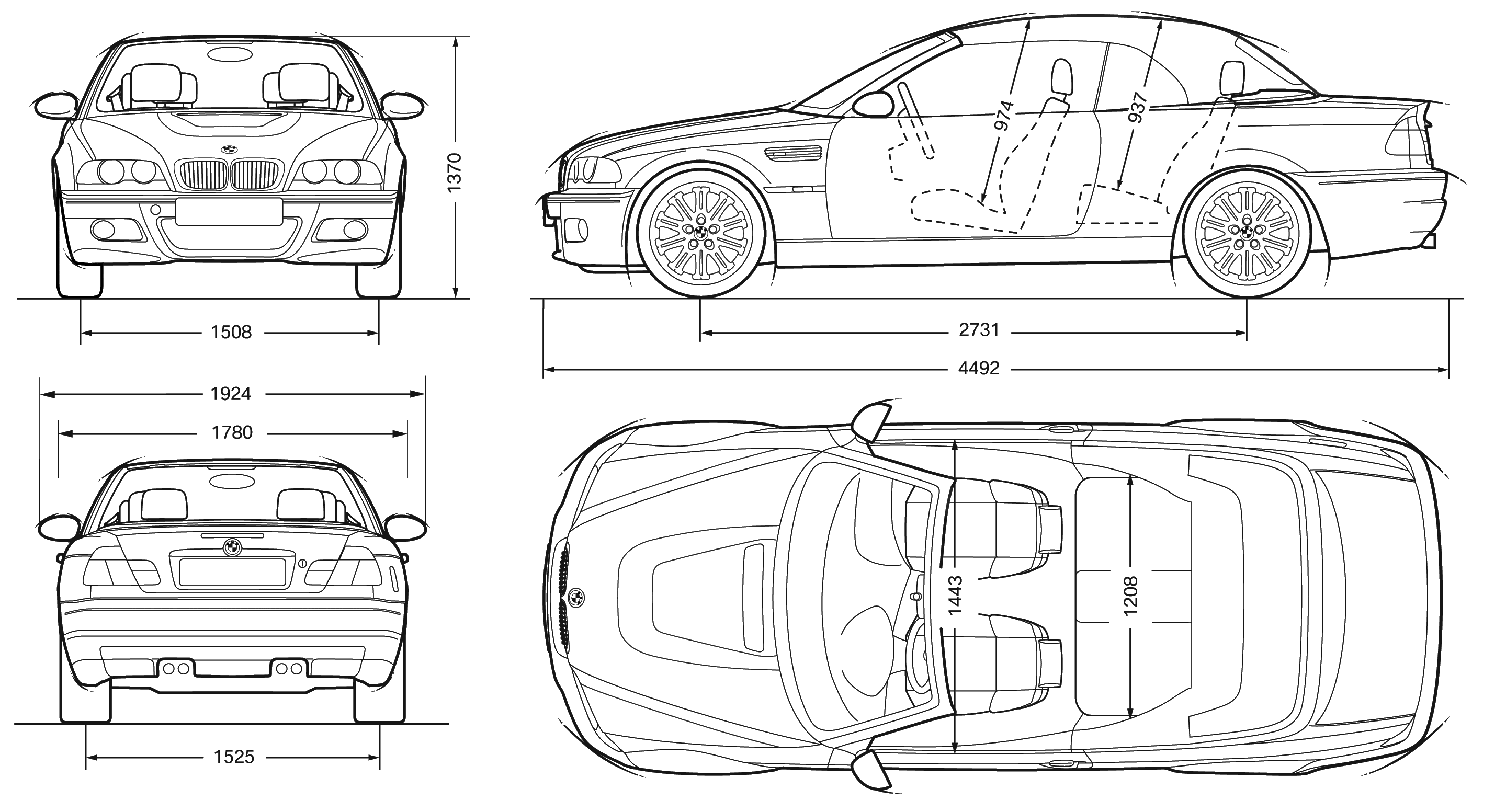 Bmw M3 E46 Blueprint