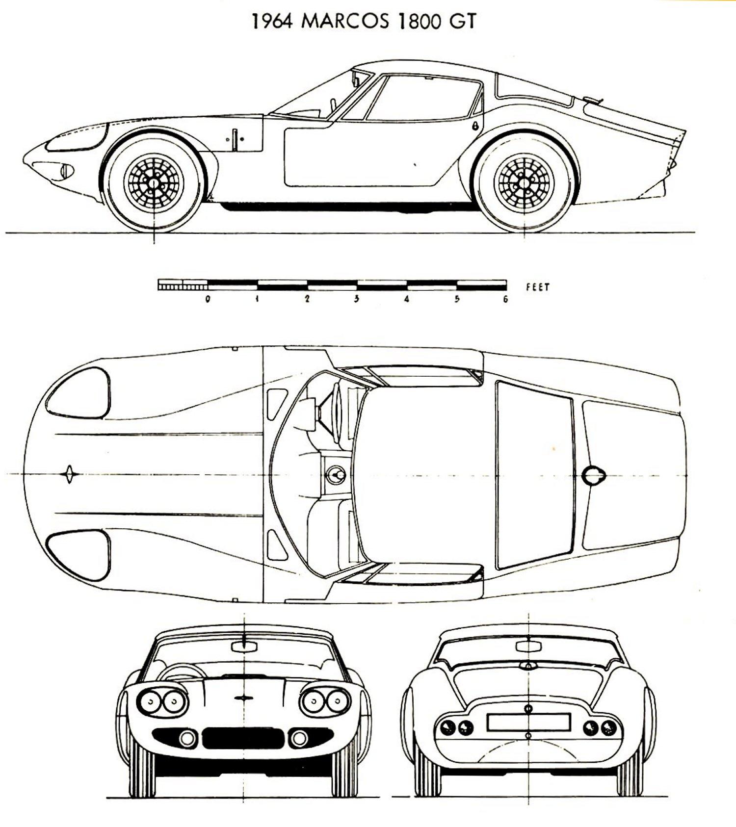 Marcos Gt Blueprint