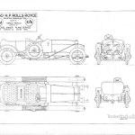 Rolls Royce 40 50 Hp Blueprint Download Free Blueprint For 3d Modeling