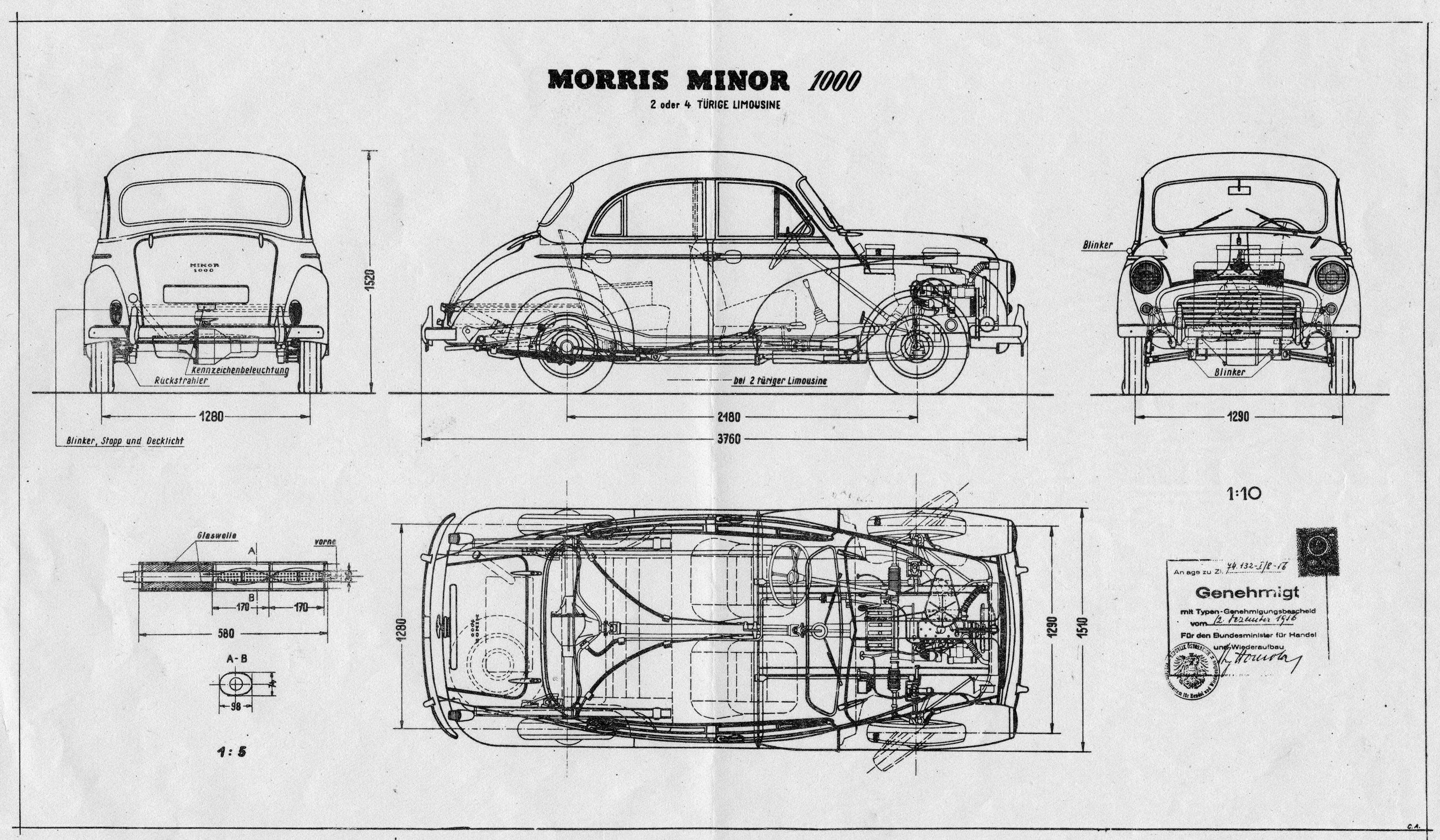 Morris Minor Blueprint