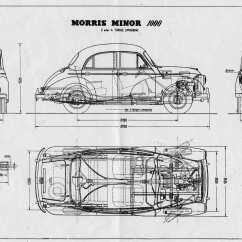 Classic Mini Front Suspension Diagram Led Bar Wiring Morris Minor 1000 1938 Blueprint Download Free