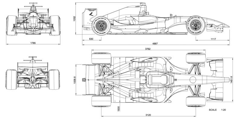 Image result for f1 car blueprint