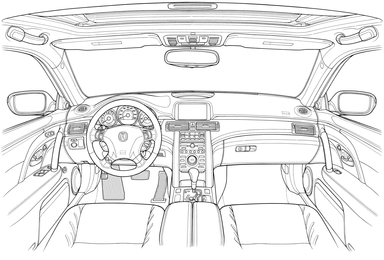 Acura Rl Blueprint