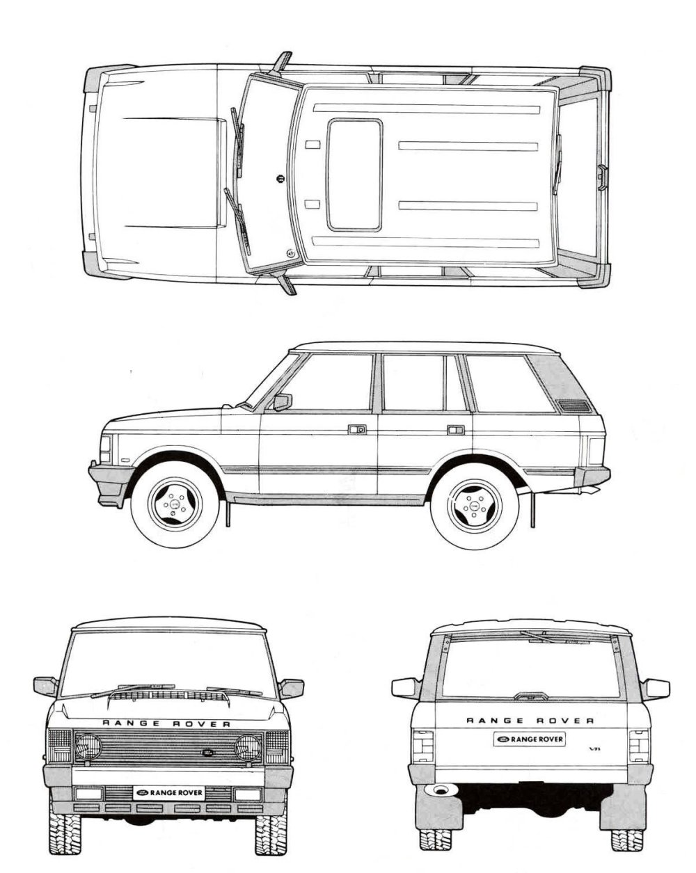 medium resolution of land rover range rover 1991 blueprint download free blueprint for land rover 90 wiring diagram land rover diagram