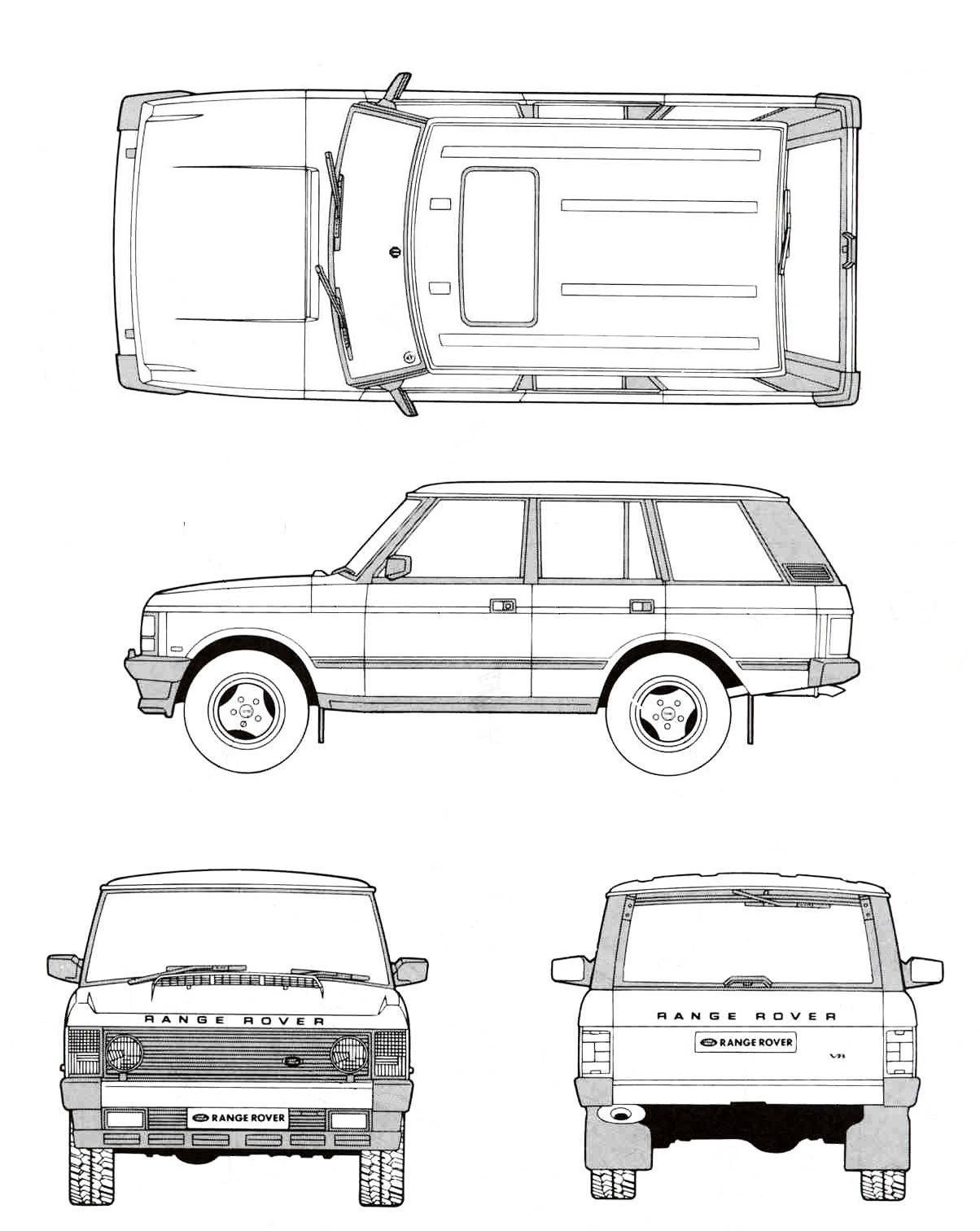 hight resolution of land rover range rover 1991 blueprint download free blueprint for land rover 90 wiring diagram land rover diagram