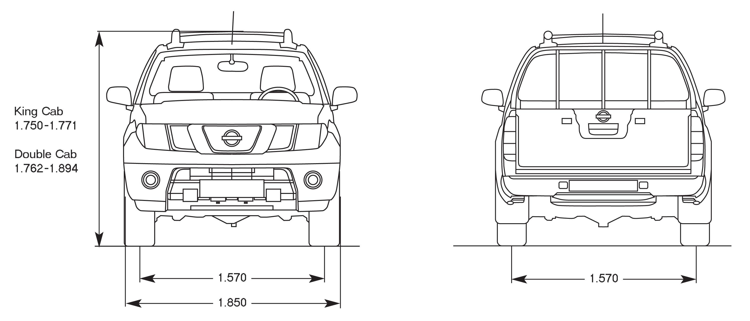Nissan Navara Blueprint