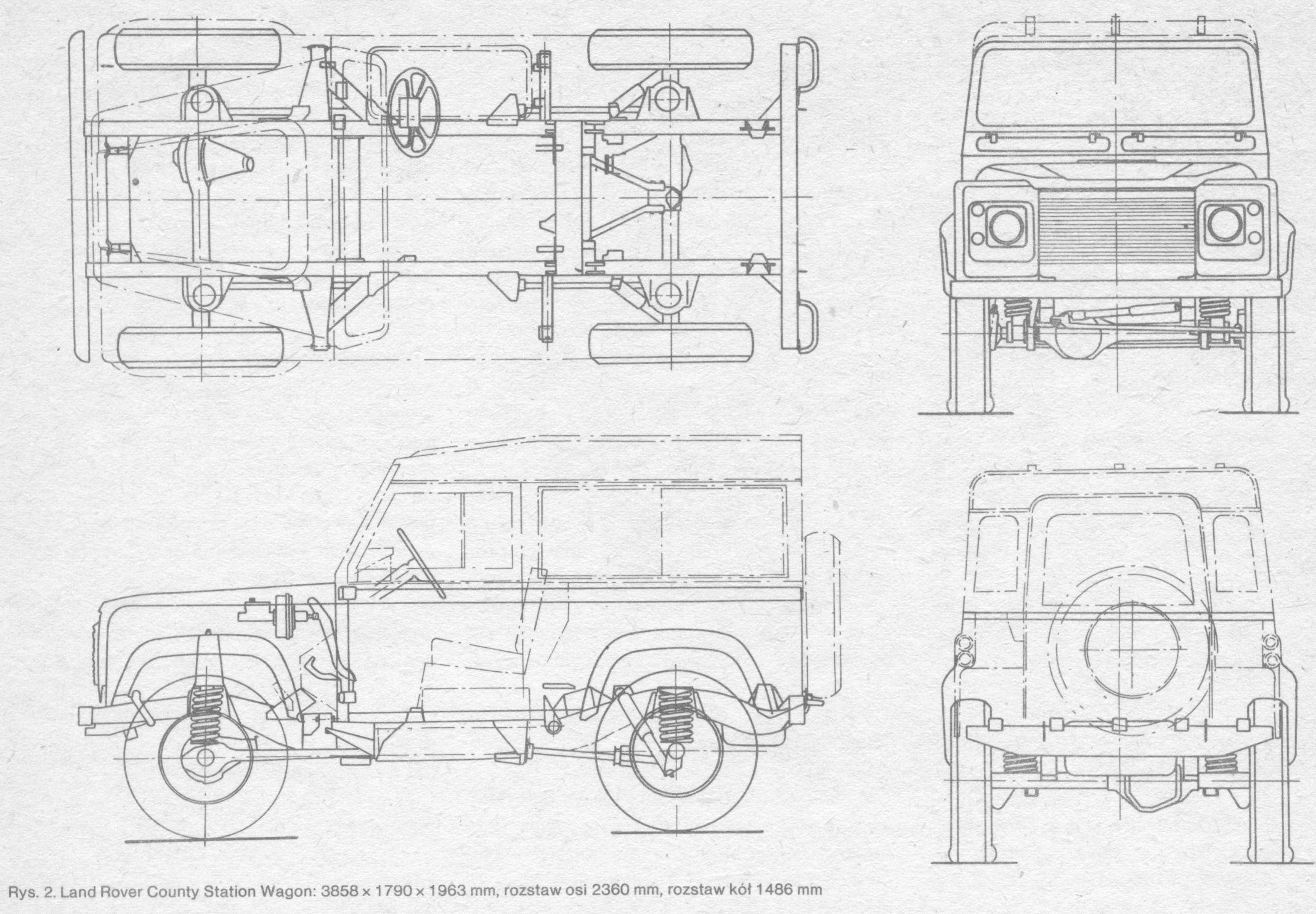 Land Rover Defender 90 Blueprint