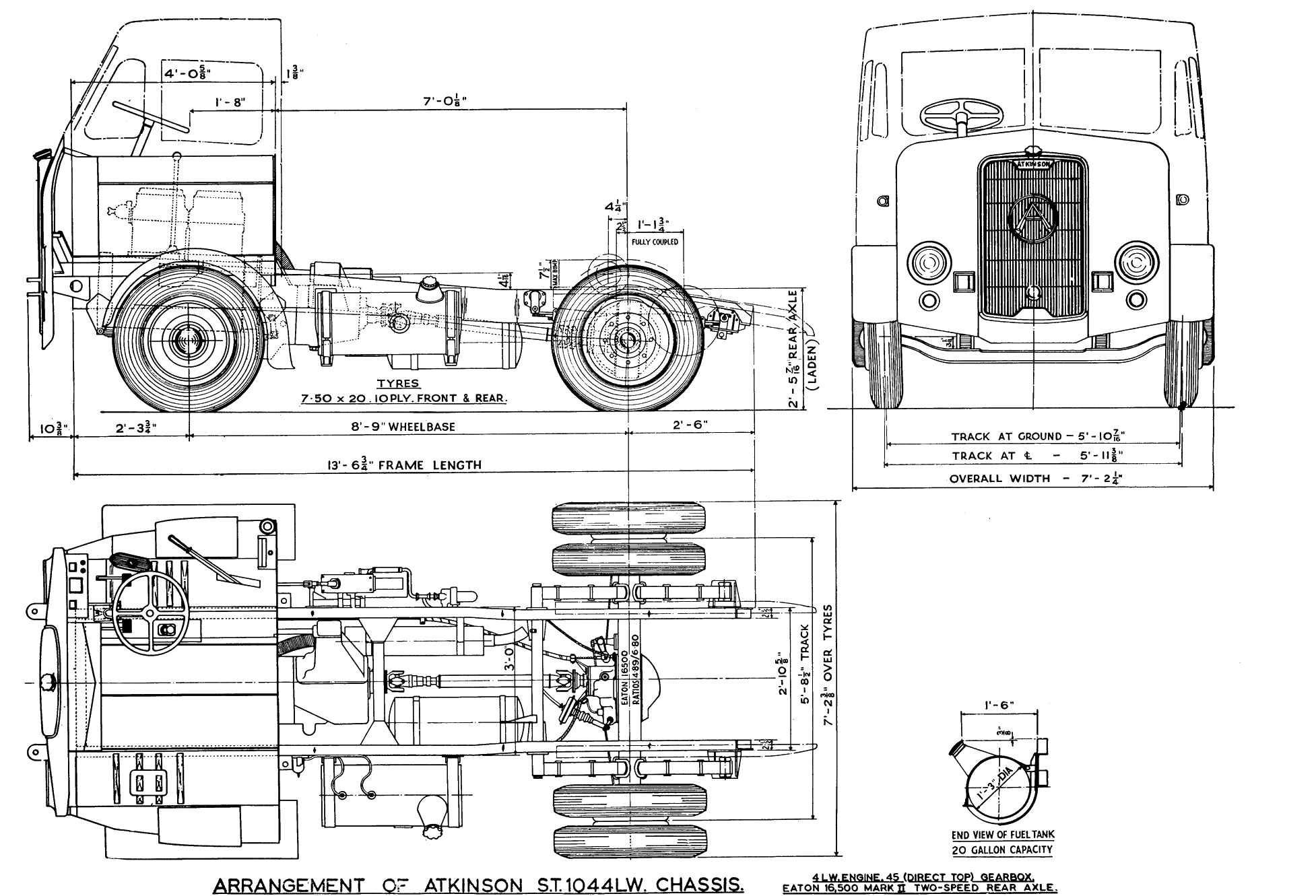 Truck Blueprints Gallery