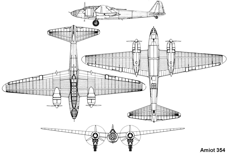 Amiot 354 Blueprint