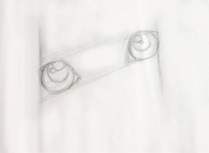 Step 5-dog eye drawing