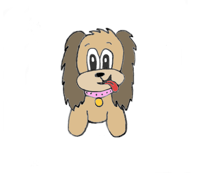 how to draw cute cocker spaniel drawing