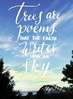 Gibran quote, dip pen, 2013