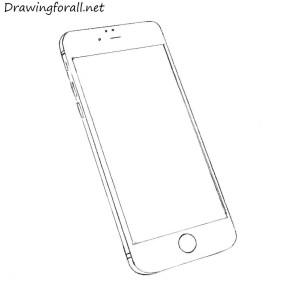 iphone draw phone
