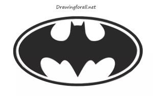batman draw logos drawing cool drawingforall symbol superhero bat easy step symbols super hero superman transparent very background batmans which