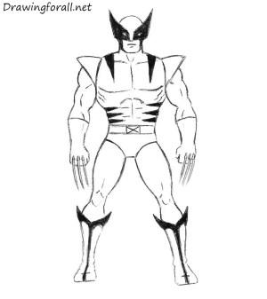 wolverine draw easy drawing way easiest spiderman drawings step pencil spider iron drawingforall marvel simple comic comics superheroes рисунки avengers