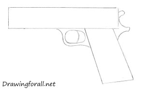 gun draw step beginners drawingforall