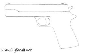 gun draw beginners step drawingforall