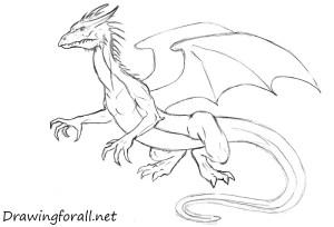 dragon draw easy step drawingforall