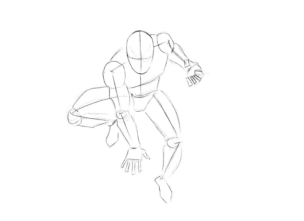 The Amazing Spiderman Drawing Tutorial  Drawingforallnet