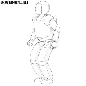 robot draw drawingforall