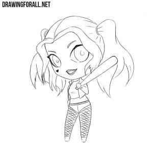 quinn harley draw chibi drawingforall